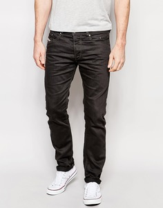 Серые суженные джинсы слим Diesel Belther 847E - Серый