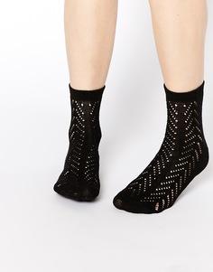 Ажурные носки ASOS - Черный