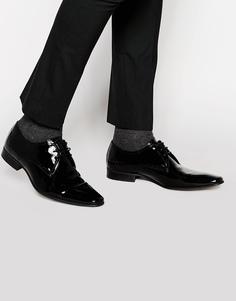 Лакированные туфли-дерби Kurt Geiger Anton - Черный