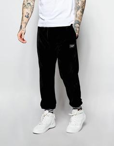 Велюровые спортивные штаны Jaded London - Черный
