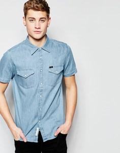 Рубашка в стиле вестерн Lee - Синий