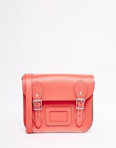 Маленькая сумка‑сэтчел The Leather Satchel Company - Румяный
