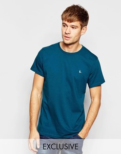 Зеленая футболка с логотипом-фазаном Jack Wills - Зеленый лес
