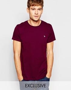 Фиолетовая футболка с принтом логотипа Jack Wills - Насыщенный фиолетовый