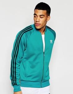 Спортивная куртка adidas Originals Superstar AJ7001 - Зеленый