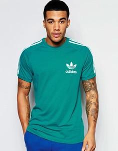 Футболка adidas Originals California AP9018 - Зеленый