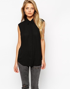 Блузка без рукавов ASOS - Черный