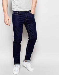 Темно-синие джинсы слим плотностью 12,5 унции ASOS - Классический синий