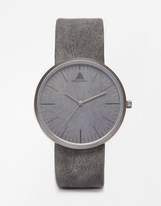 Серые часы с циферблатом под бетон ASOS - Серый