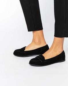 Туфли на плоской подошве ASOS MONTH - Черный