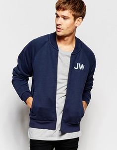 Темно-синяя трикотажная куртка-пилот Jack Wills - Темно-синий
