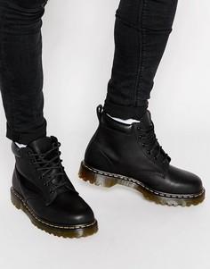 Ботинки с 6 парами люверсов Dr Martens 939 - Черный