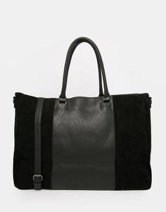 Дорожная сумка Pieces - Черный