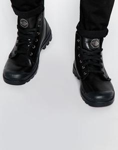 Кожаные ботинки Palladium - Черный