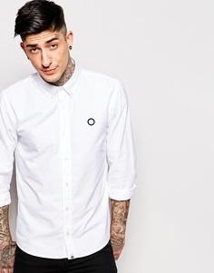 Оксфордская рубашка Pretty Green - Белый