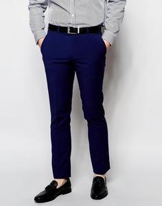 Однотонные брюки Ben Sherman - Синий