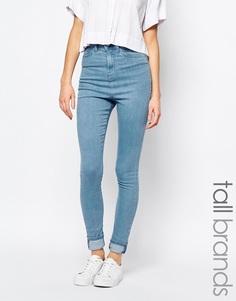 Укороченные джинсы скинни Waven Tall Freya - Синий