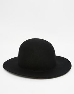Черная шляпа пасечника с мягкими полями ASOS - Черный