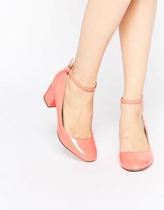 Туфли на каблуке ASOS SHOWBIZ - Коралловый