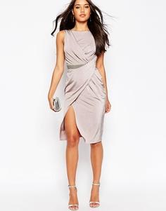 Платье миди ASOS - Сиреневый