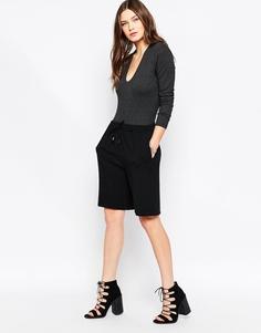 Удлиненные шорты Just Female Lee - Черный
