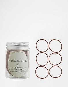 Резинки для волос Hershesons - Коричневый