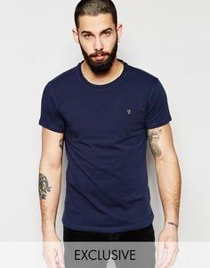 Эластичная футболка эксклюзивно для Farah - Темно-синий