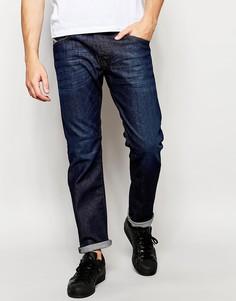 Суженные книзу джинсы слим Diesel Jeans Belther 844C - Темно-выбеленный