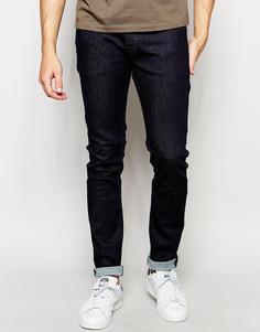 Эластичные зауженные джинсы Diesel Sleenker 849D Everspring - Темная окраска
