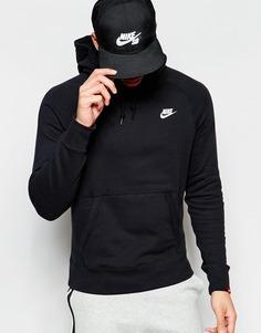 Худи с карманами Nike AW77 545201-011 - Черный