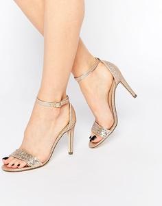 Золотистые сандалии на каблуке Call It Spring Waylanda - Коралловый