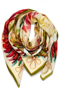Платок шелковый Feather Lalique