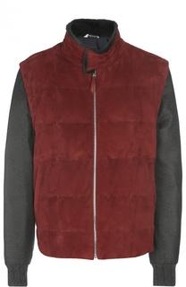 Куртка замшевая Andrea Campagna