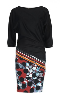 Платье джерси Roberto Cavalli