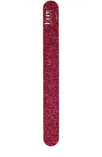 Пилка для ногтей темно-розовая Kure Bazaar