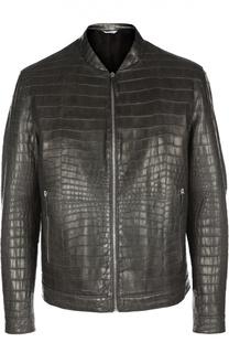 Куртка кожаная Andrea Campagna