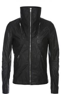 Куртка-бомбер кожаная Rick Owens