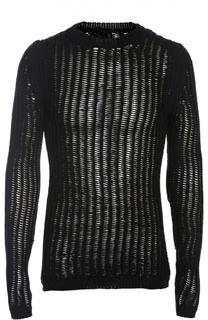 Пуловер вязаный Rick Owens