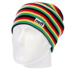 Шапка Neff Duo Stripe Rasta