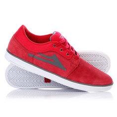 Кеды кроссовки низкие Lakai Howard Suede Red