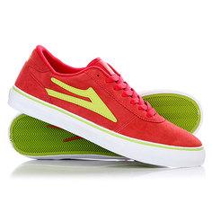 Кеды кроссовки низкие Lakai Manchester Red Lime