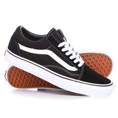 Кеды кроссовки низкие Vans Old Skool Black/White