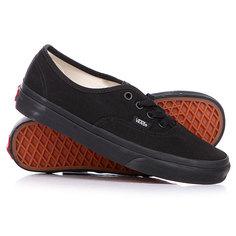 Кеды кроссовки низкие Vans Authentic Black