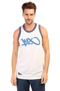 Майка K1X Tag Mesh Jersey White/Blue