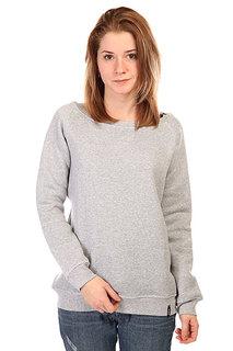 Толстовка классическая женская Emblem Springly Jacket Heather Grey