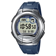 Электронные часы Casio Collection W-752-2a Blue/Grey