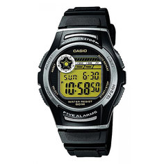 Электронные часы Casio Collection W-213-9a Black