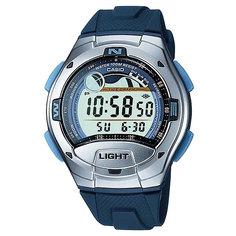 Электронные часы Casio Collection W-753-2a Grey/Blue