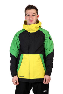 Куртка Burton Mb Hilltop Jk True Black Colorblock