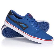 Кеды кроссовки низкие Kangaroos Jeffrey Canvas Royal Blue/Black